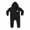 macacao bebe de moletom abertura de ziper carro preto kappes