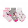 kit 3 meias fun socks urso rosa winston 2