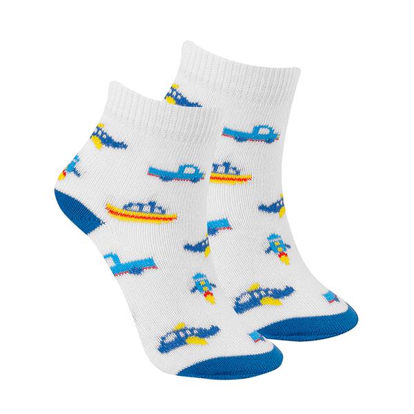 meias fun socks aviao branco winston