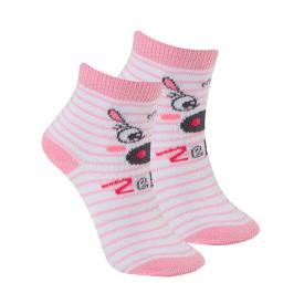 meias fun socks zebra rosa winston
