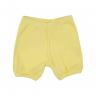 shorts bebe urso amarelo dino kids