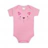 body gatinha rosa e chiclete vestir com amor