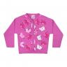 cardiga gatinha rosa e chiclete vestir com amor