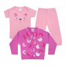 kit body bebe 3 pecas pagao gatinha rosa e chiclete vestir com amor