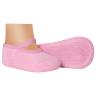 meias fun socks sapatilha bebe rosa winston