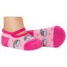 meias fun socks sapatilha bebe arco iris rosa winston
