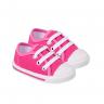 tenis bebe com cadarco pink keto baby