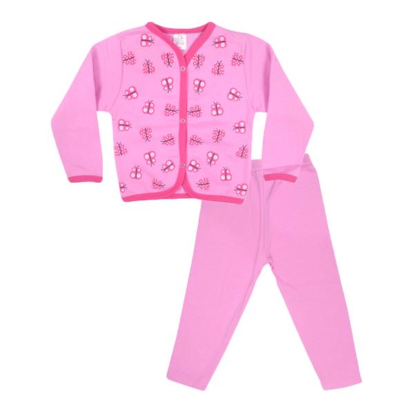 conjunto cardiga e calca de moletom cachorro rosa