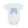 body bebe pagao urso azul dino kids