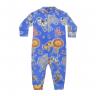 macacao bebe de soft zoologico azul kiiwi