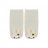 meias fun socks com pelucia de coelho perola nicecotton