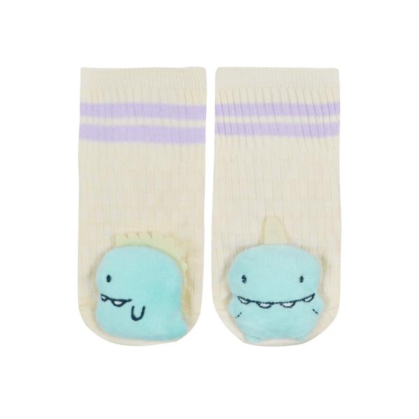 meias fun socks com pelucia de monstrinho perola nicecotton 2