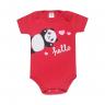 body bebe panda vermelho dino kids