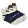 meias fun socks com orelinhas de macaquinho perola baby socks