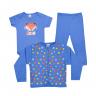 kit infantil 3 pecas pagao raposa royal vestir com amor