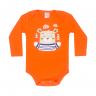 body bebe pagao envelope urso laranja dino kids