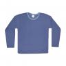 blusao infantil de boucle azul jeans c canaa