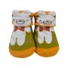 meias fun socks com orelinhas de urso mostarda baby socks 2