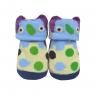 meias fun socks com orelinhas de monstrinho mescla baby socks 2
