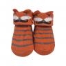 meias fun socks com orelinhas de raposa mostarda baby socks 2