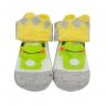 meias fun socks com orelinhas de sapinho mescla baby socks 2