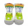 meias fun socks com orelinhas de sapinho mescla baby socks 3