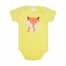 body bebe raposa amarelo lmol baby