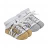 kit 2 meias chuteiras baby socks masculino bege e mescla baby socks