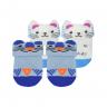 kit 2 meias baby socks masculino azul e perola baby socks