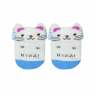 kit 2 meias baby socks masculino azul e perola baby socks 2