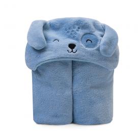 cobertor microfibra bebe flanelado urso azul papi baby 2