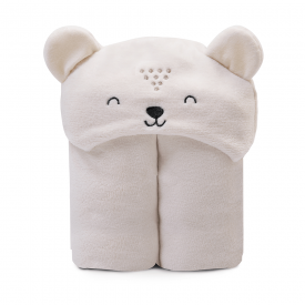 cobertor microfibra bebe flanelado urso perola papi baby