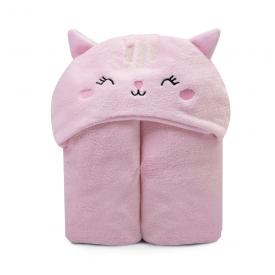 cobertor microfibra bebe flanelado urso rosa papi baby