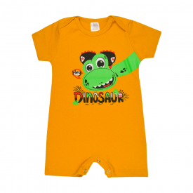 banho de sol bebe dinossauro mostarda lmol baby